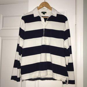 JCrew Always Polo shirt Navy L